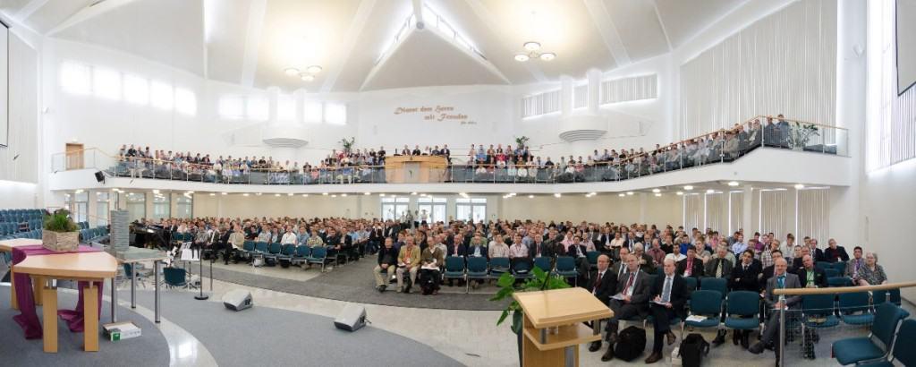 Predigerkonferenz - Der Saal von vorne
