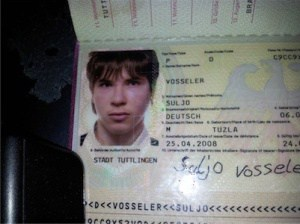 Personal Ausweis von Suljo Vosseler