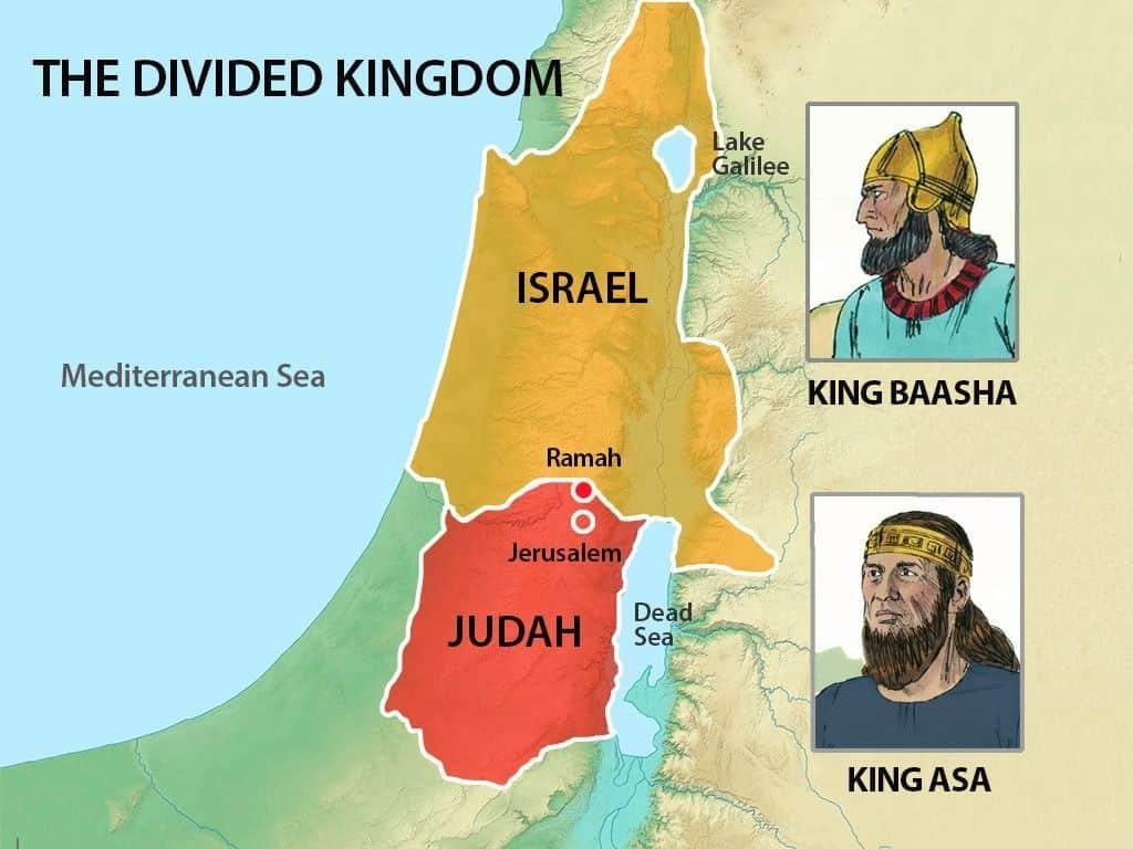Das Königreich von Israel und Juda