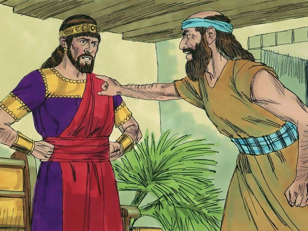 König Asa und Hanani